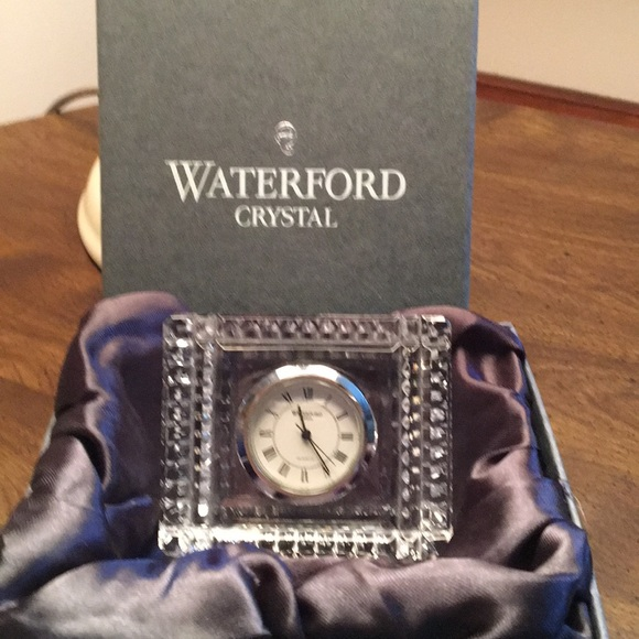 Waterford Other - Waterford Crystal Clock